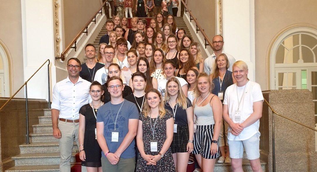 Berufsschule zu Gast im Landtag