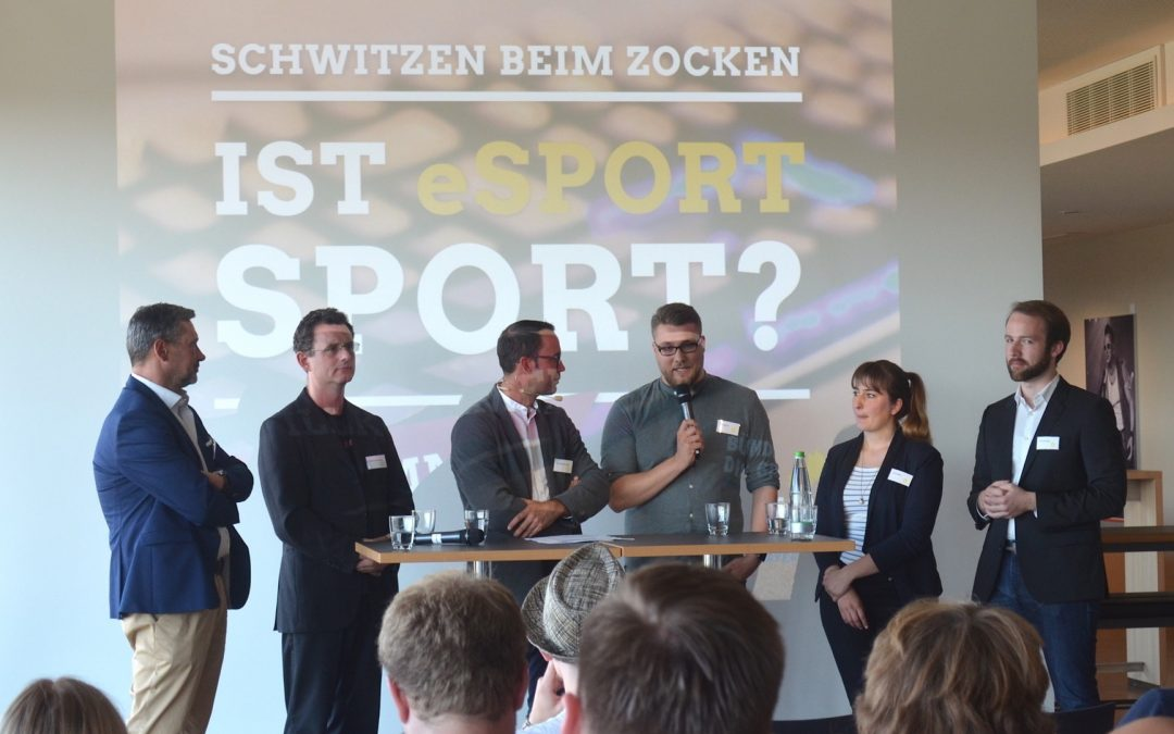 eSport: Podiumsdiskussion in Neu-Ulm