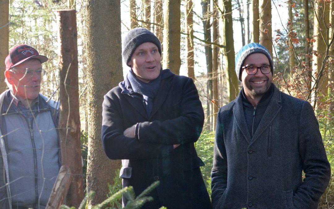 Landtags-Grüne treffen Waldbesitzer im Kammeltal